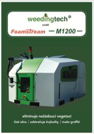 Foamstream M1200 - informační leták A5